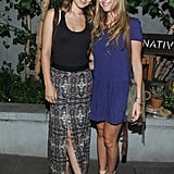 Olivia Wilde and Barbara Burchfield