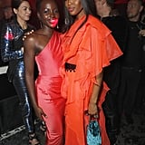 Lupita Nyong'o and Naomi Campbell