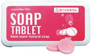 New Soap Tablets Make Washing Hands Convenient