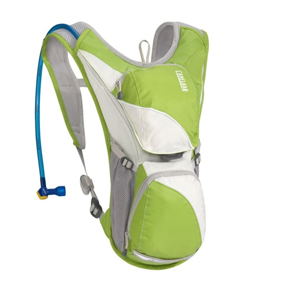 The design of the CamelBak 2012 Aurora ($65) is perfectly conformed to complement a woman's bod and make a sometimes pesky pack act like a second skin.