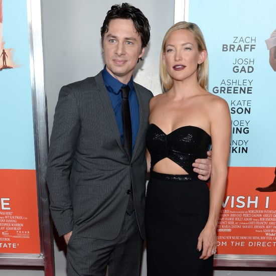 Zach Braff and Kate Hudson at Wish I Was Here NYC Screening