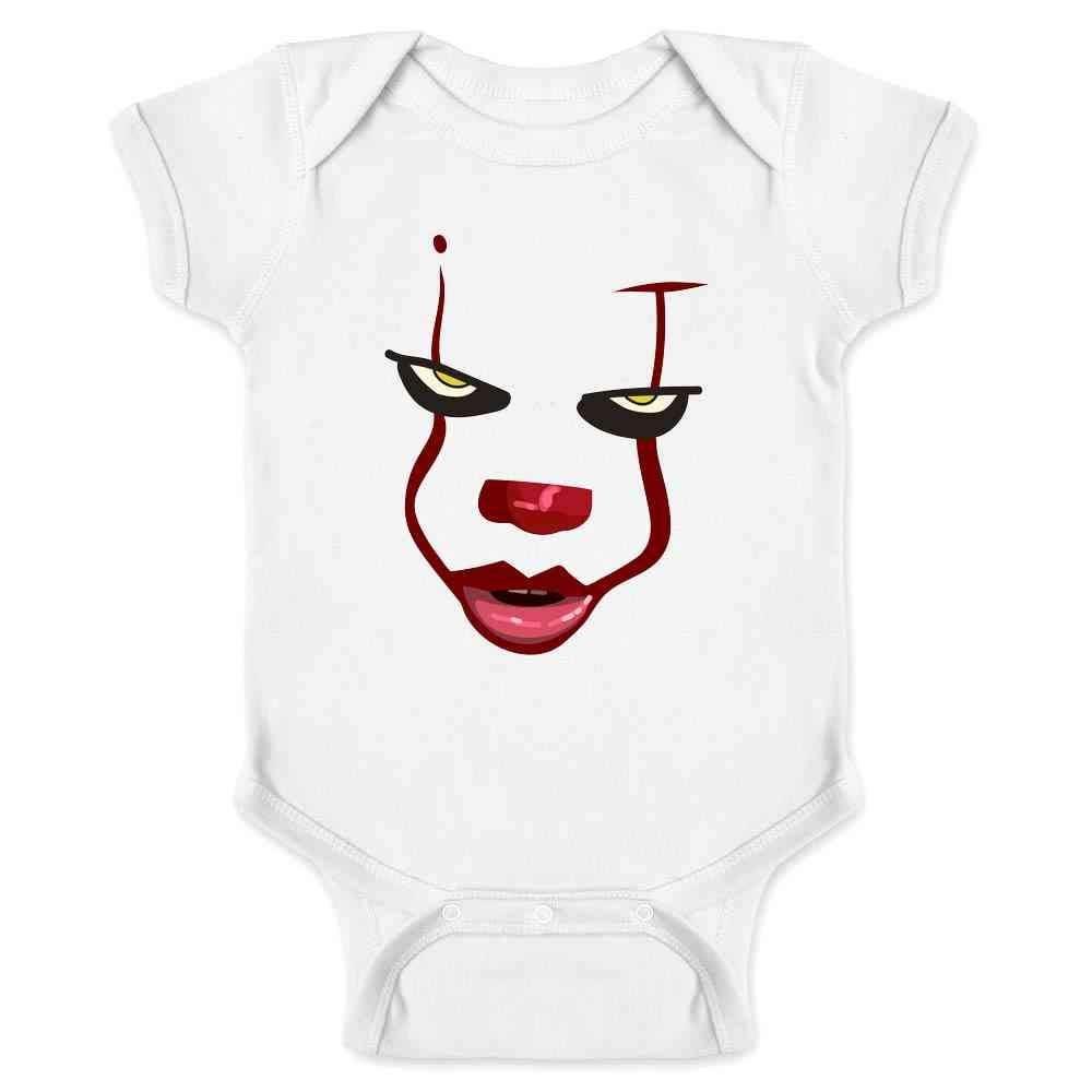 Pop Threads Clown Face Horror Scary Movie Halloween Costume