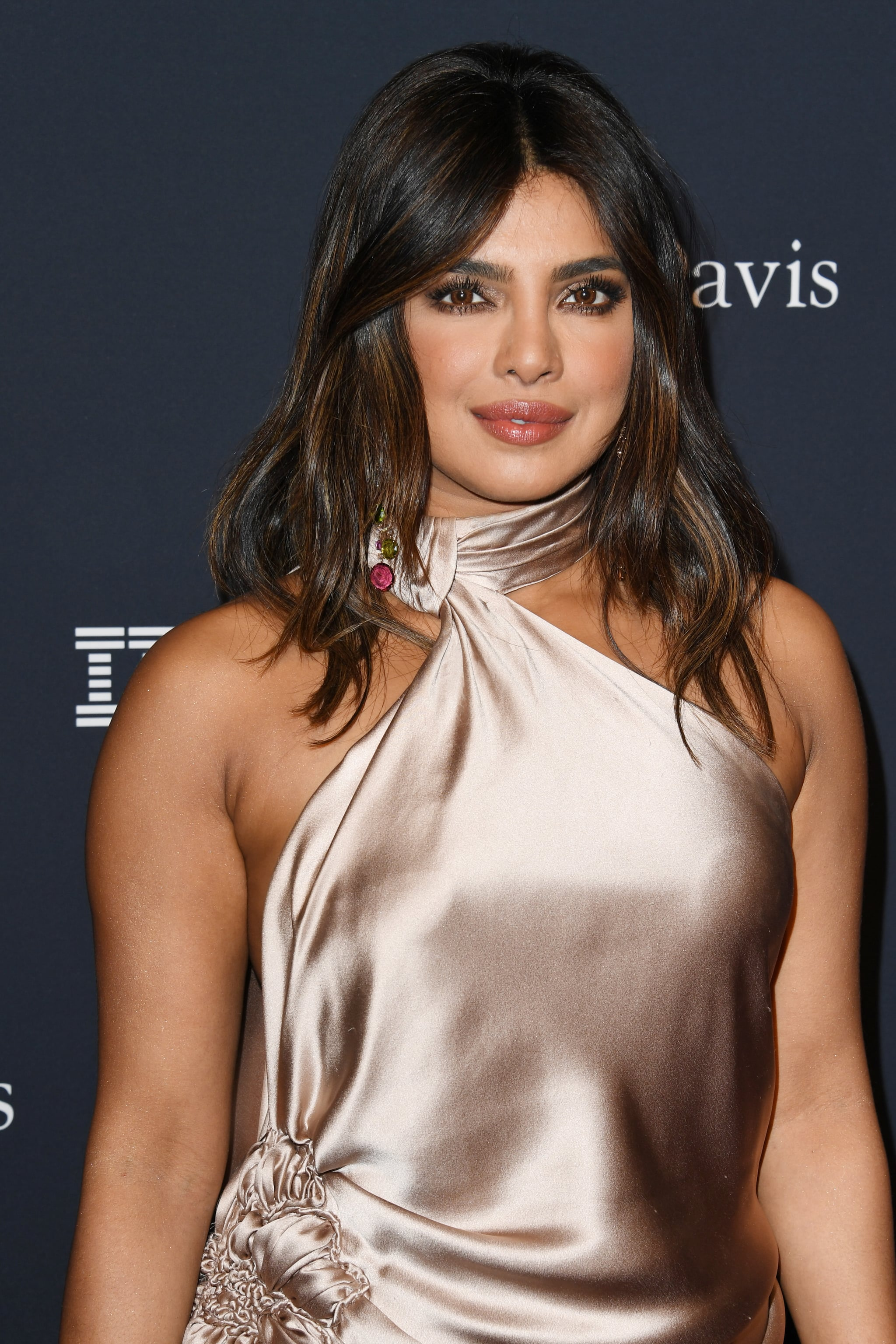 BEVERLY HILLS, CALIFORNIA - JANUARY 25: Priyanka Chopra attends the Pre-GRAMMY Gala and GRAMMY Salute to Industry Icons Honoring Sean