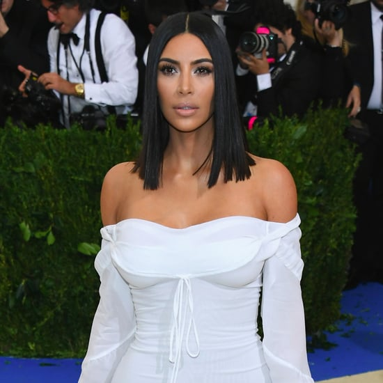 Kim Kardashian at the 2017 Met Gala