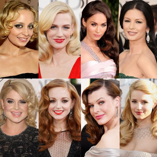 Hair at the 2011 Golden Globe Awards