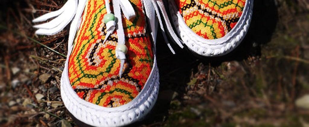Inca-Print Shoes