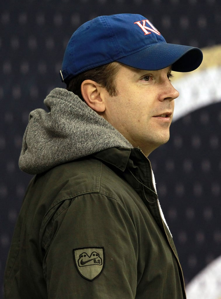 Jason Sudeikis was in attendance at a New York Giants vs. New Orleans Saints game in November 2011.