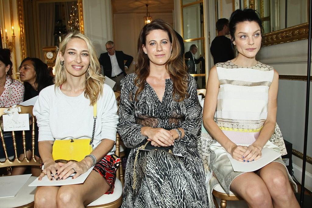 Alexandra Golovanoff, Francesca Versace and Jessica Stam