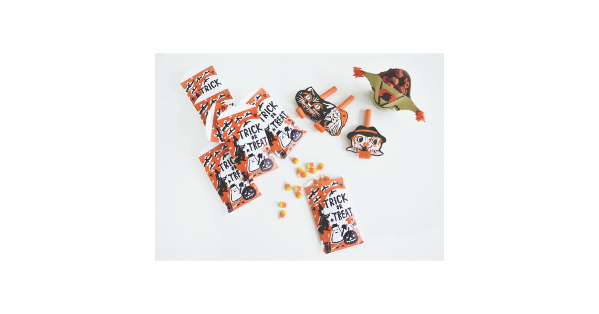 Trick or treat bags diy vintage halloween decor Vintage halloween decorations uk