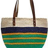 J.Crew Striped Beach Bag