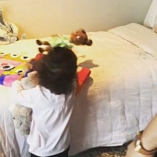 Chrissy Teigen Buys Luna a Big Girl Bed