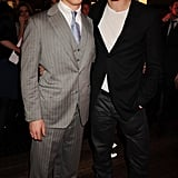 Benedict Cumberbatch and Tom Hiddleston were picture-perfect pals at an InStyle event in LA back in January 2011.