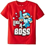 "Minecraft ""Like a Boss"" T-Shirt"