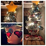 The hero who used this Mario Star tree topper