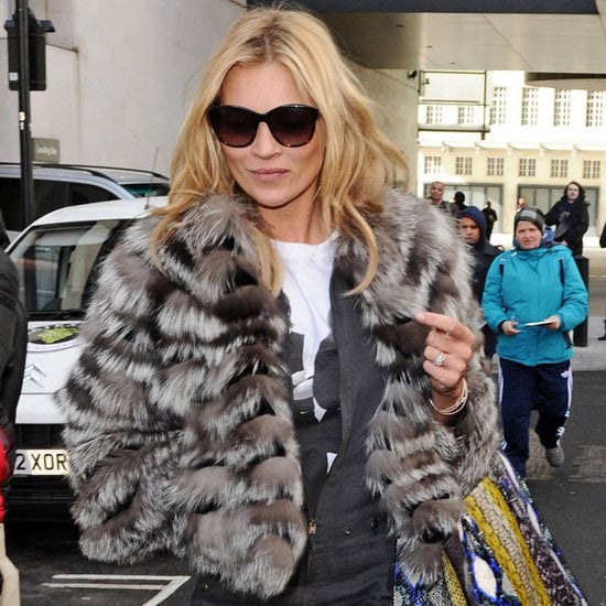 Kate Moss read Fifty Shades of Grey on the radio for charity (we're not kidding) — listen to it here.