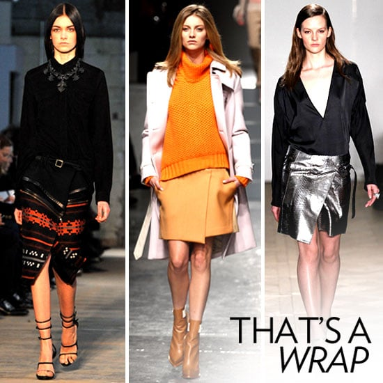 Runway to Real Life: 15 Wrap Skirts You Can Wear This Fall