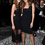 Cindy Crawford and Kaia Gerber Wearing Formal LBDs in 2016