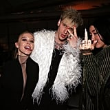 Sydney Sweeney, Machine Gun Kelly, and Noah Cyrus at the 2020 Republic Records Grammys Afterparty