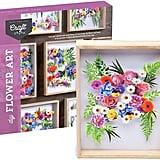Craft Crush DIY Flower Art Craft Kit