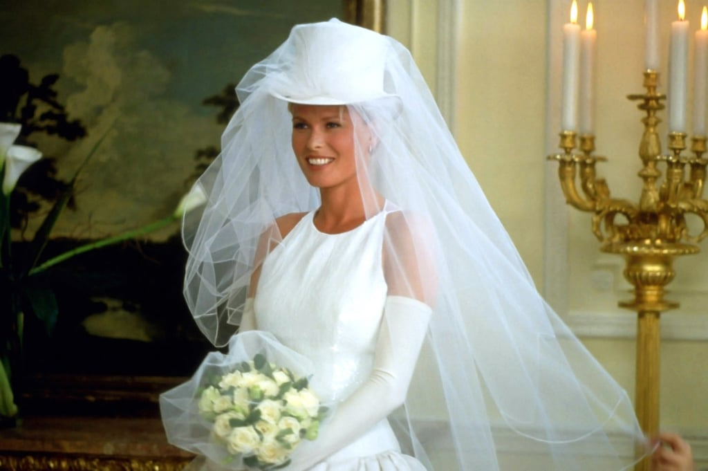 They End Up at the Elizabeth James Studio and Expertly Style the Bride's Veil With a Top Hat