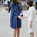 Kate Middleton Visits London Hospital February 2018
