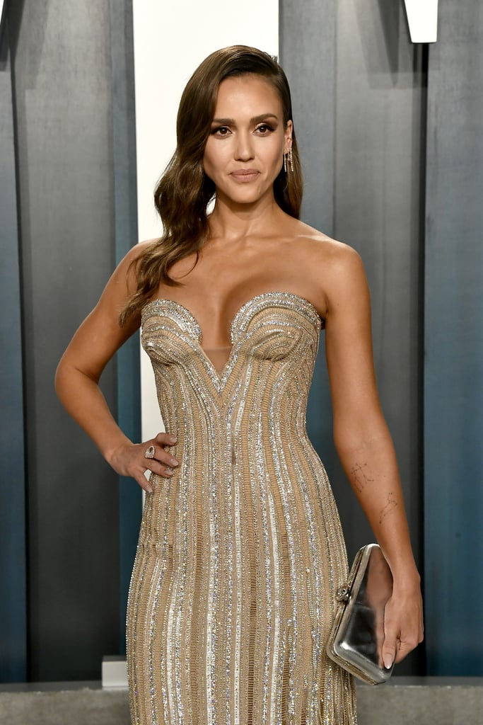 Jessica Alba at the Vanity Fair Oscars Afterparty 2020