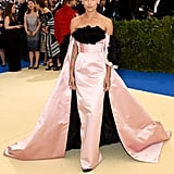 Zoe Kravitz in Oscar de la Renta as . . .