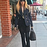 Rachel Zoe stepped out in style.