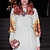 Eleonora Carisi at the Dolce & Gabbana party during Men's Spring 2013 Fashion Week in Milan.