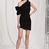 Acler Juniper One-Shoulder Crepe Mini Dress