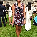 Solange Knowles was equal parts sassy and chic in Stella McCartney's little printed dress.