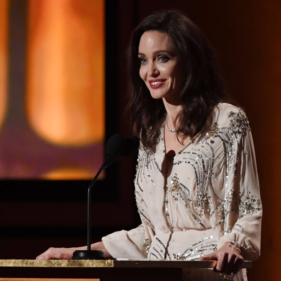 Angelina Jolie Elisabetta Franchi Dress at Governors Awards