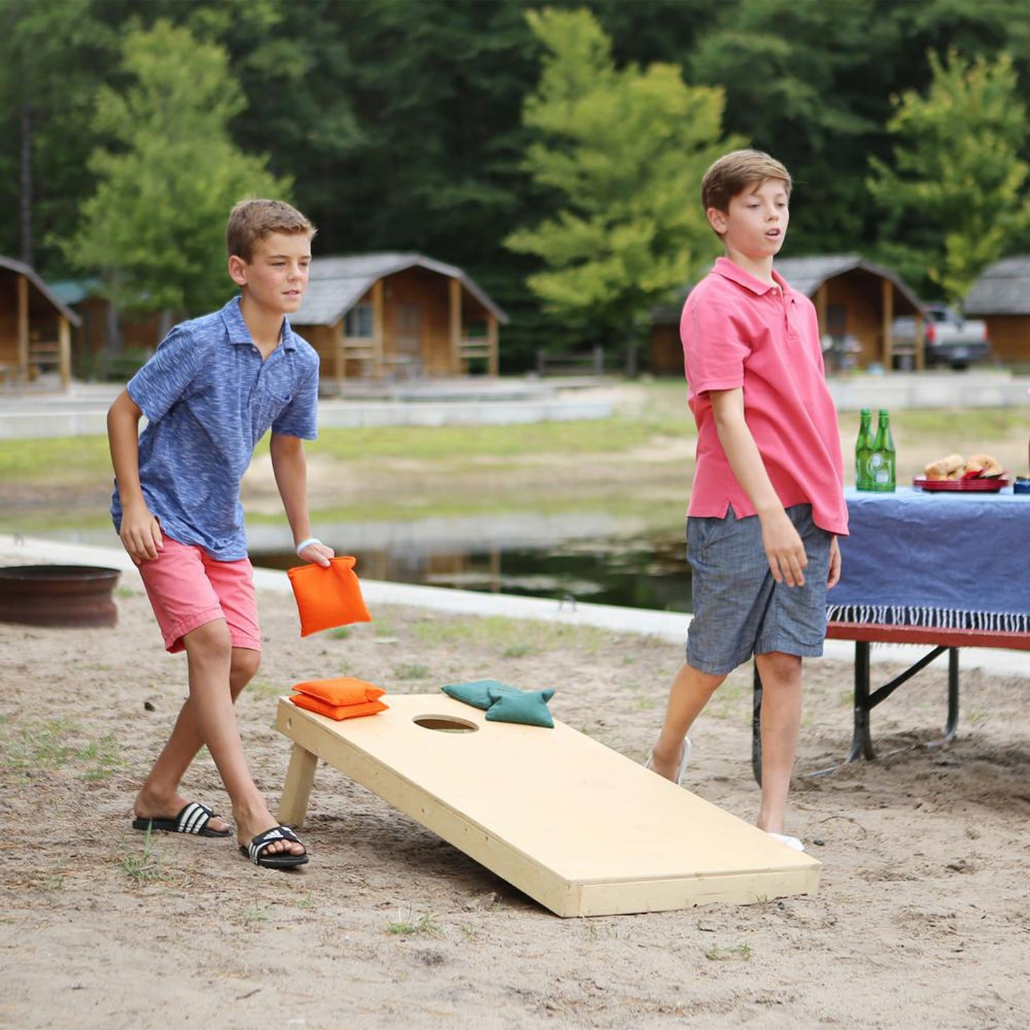 Outdoor Games To Keep Kids Busy This Summer Popsugar Family
