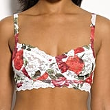 Hanky Panky's Rose Red Retro Bralette ($64) will stand out for miles.