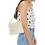 Topshop Zizi Beaded Shoulder Bag