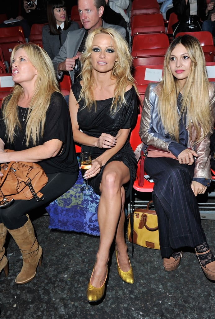 Vivienne Westwood Red Label: Pamela Anderson and Zara Martin