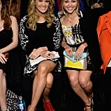 Carrie Underwood and AnnaSophia Robb struck up a conversation during the show.