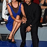 Chrissy Teigen and John Legend were front row for Tuesday's Vera Wang runway show.