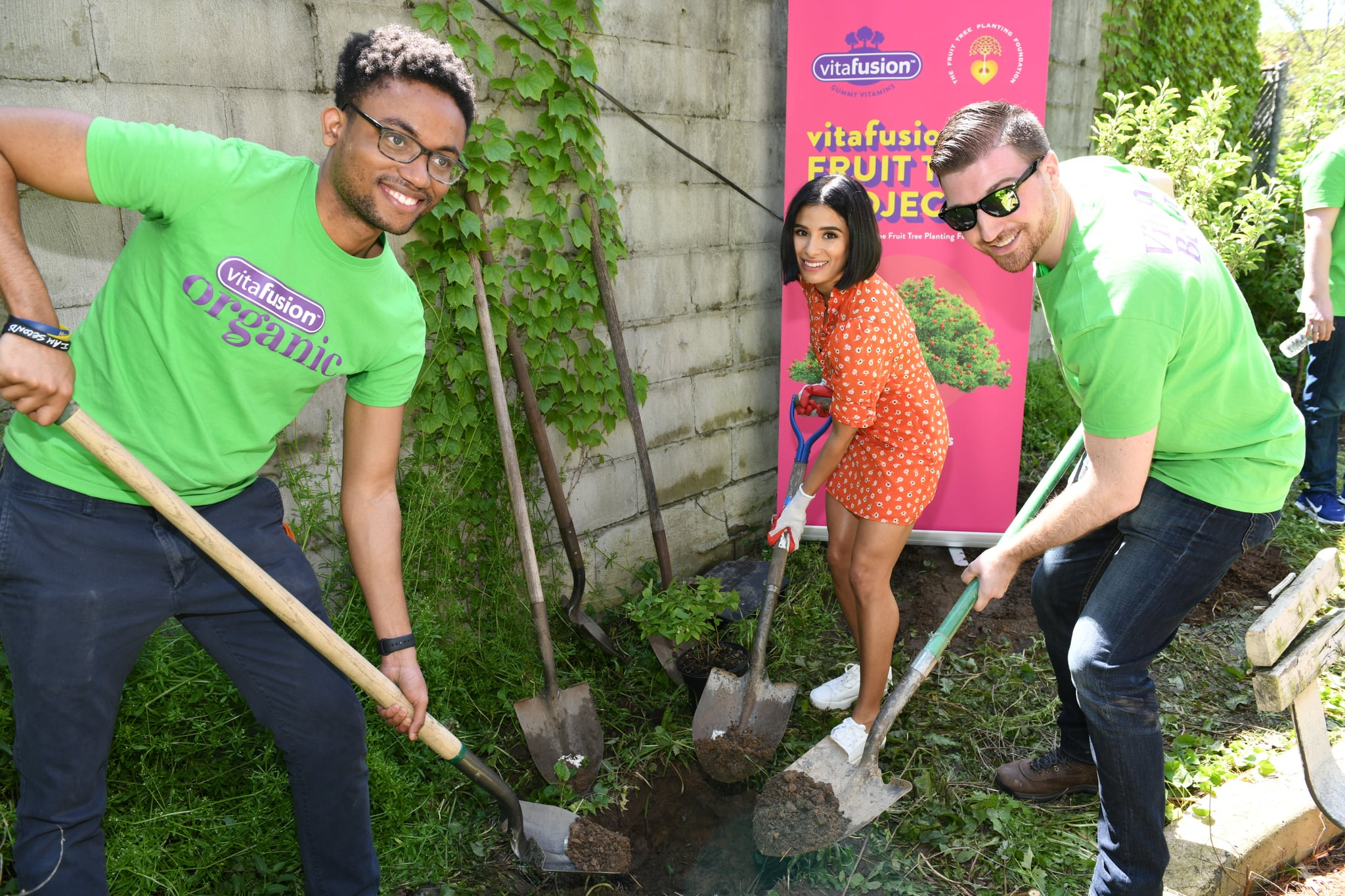 BROOKLYN, NEW YORK - MAY 16: Diane Guerrero attends vitafusion™ Fruit Tree Planting Project on May 16, 2019 in Brooklyn, New York. (Photo by Craig Barritt/Getty Images for vitafusion™ Gummy Vitamins)