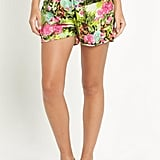 Resort tropical print shorts (£16)