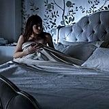 Ana wakes up alone.
