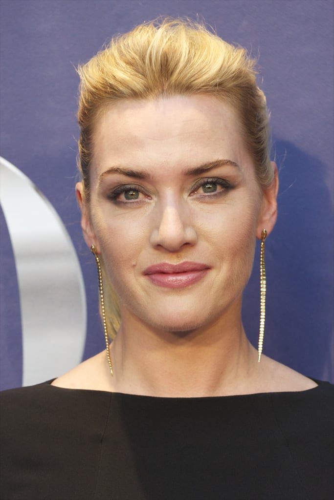 Kate Winslet's makeup glowed at the Yo Dona Awards.