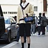 Where Chanel bags and Nikes collide. Source: Le 21ème | Adam Katz Sinding