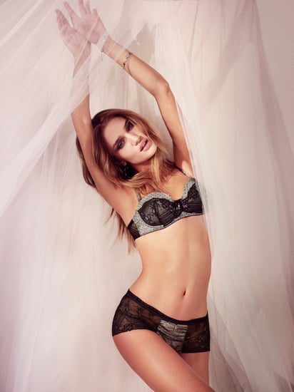 Rosie Huntington Whiteley for Monsoon Lingerie Spring 2010 2010-04-07 03:07:27