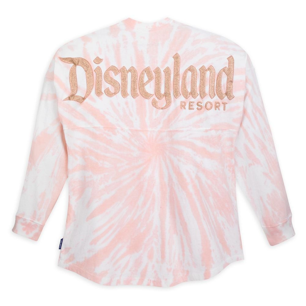 Disneyland Spirit Jersey For Adults — Tie-Dye Briar Rose Gold