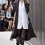 The Mismatched Boots Look Was Echoed Throughout the Collection