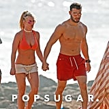 Britney Spears and Boyfriend in Hawaii Pictures January 2018