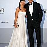 Alec Baldwin and Hilaria Thomas attended the amfAR Cinema Against AIDS gala.