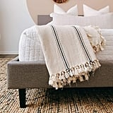 The Loomia Sophie Turkish Cotton Boho Throw Blanket