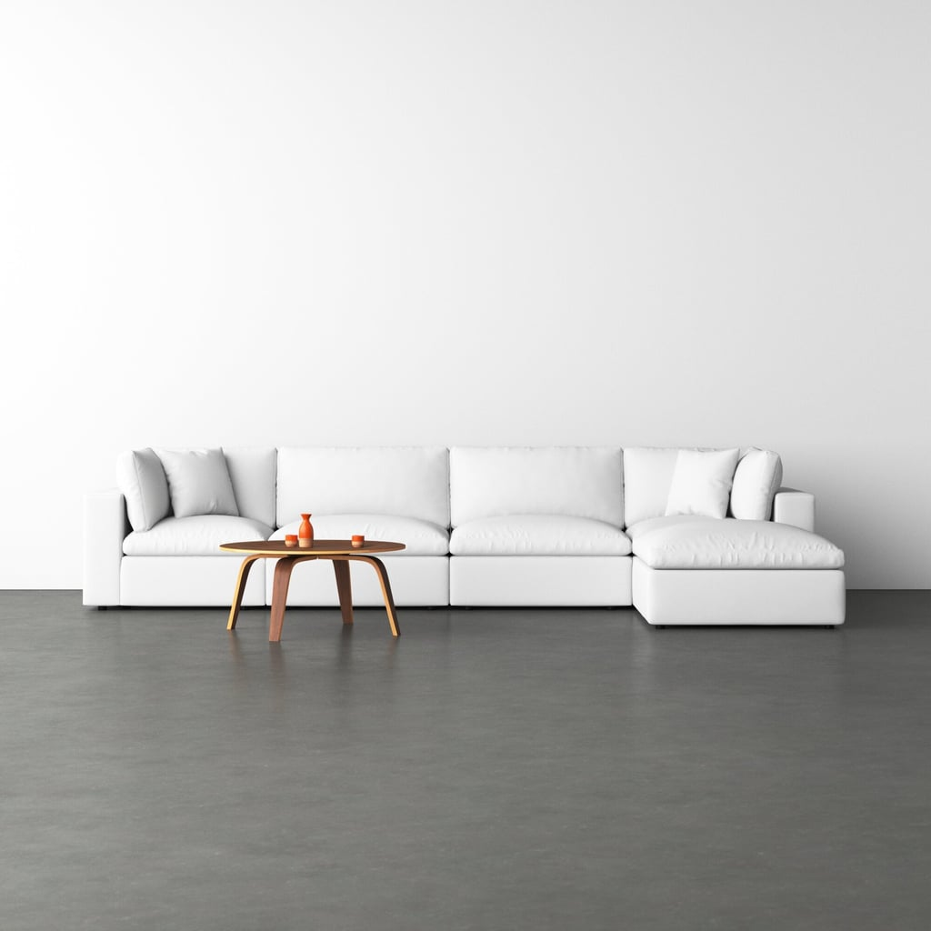 Trevor Reversible Modular Sectional With Ottoman
